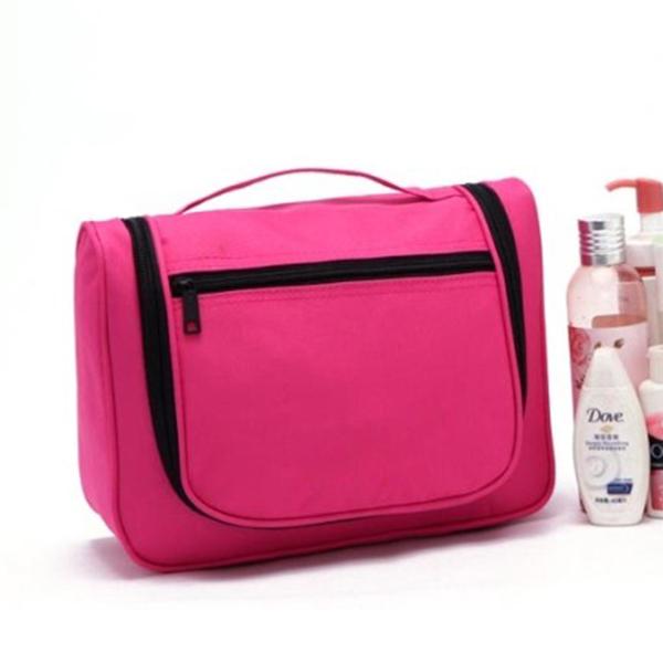 Travel Toiletry Hanging Makeup Cosmetic Beauty Wash Bag Purse Zipper Organizer