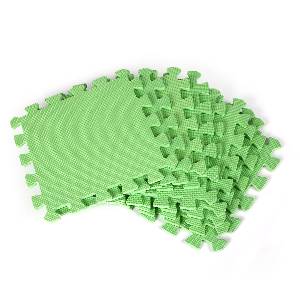 9pcs Set Interlocking Puzzle Floor Foam Gym Mats Thick