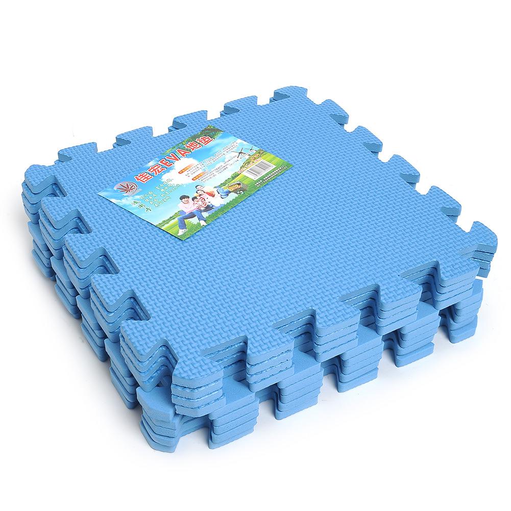 9pcs Eco Soft Foam Tile Interlocking Foam Floor Kid Play