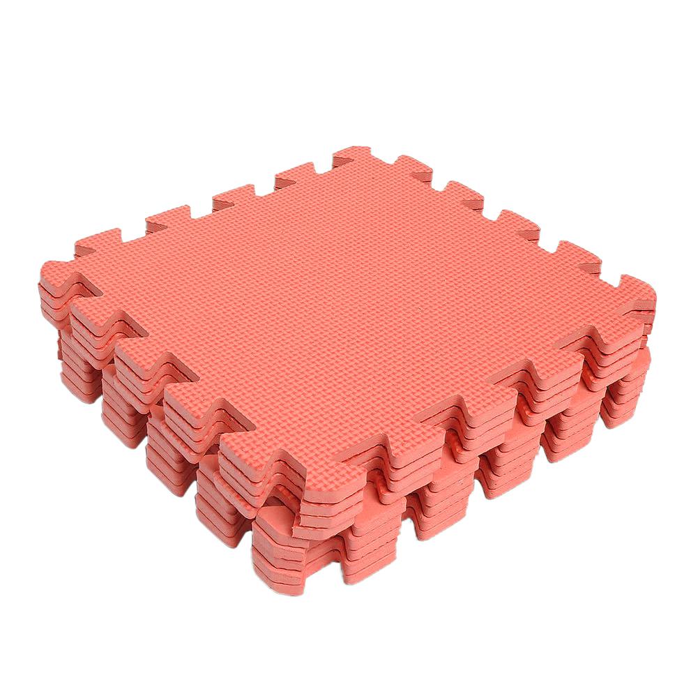 Exercise floor mats tiles