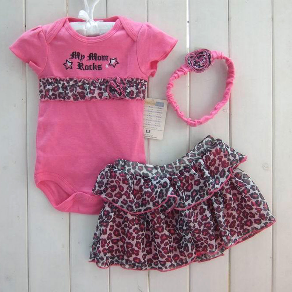 a3312db223afe Sale Cute Lovely 3pcs Outfits Sets Girls Baby Newborn Clothes ...