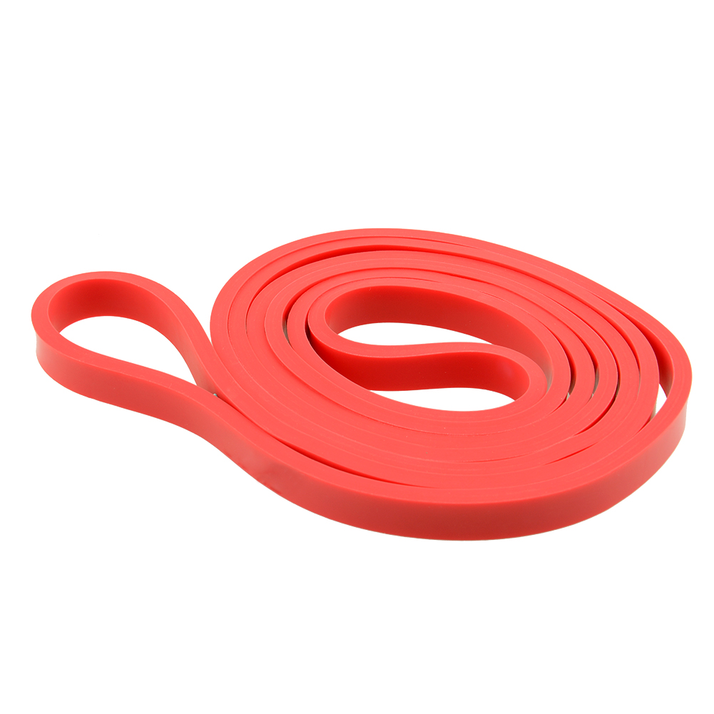 "Red 0.5"" Rubber Stretch Elastic Resistance Band Exercise"