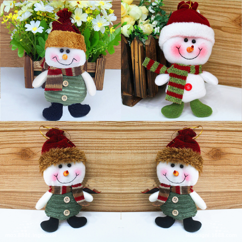 New Fabric Hang Hanging Christmas Decorations Doll