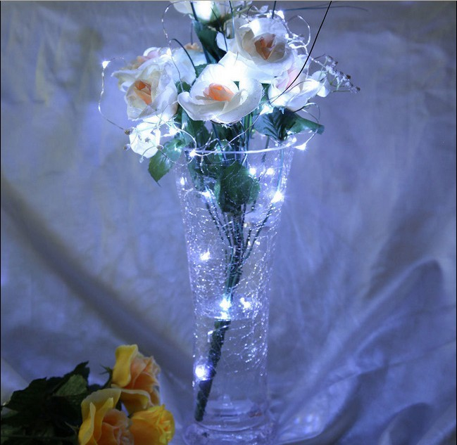 String Lights Vase : Romantic-3M-Gorgeous-30LED-Submersible-Vase-String-Light-Xmas-Christmas
