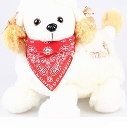 New Small Adjustable Pet Puppy Cat Dog Bandana Leather Collar Harness