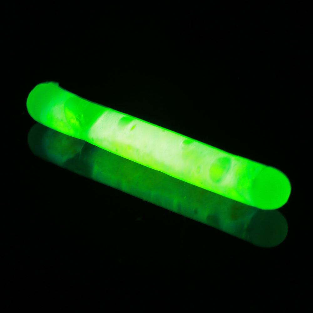 15pcs mini fishing fluorescent lightstick night float clip for Fishing glow sticks