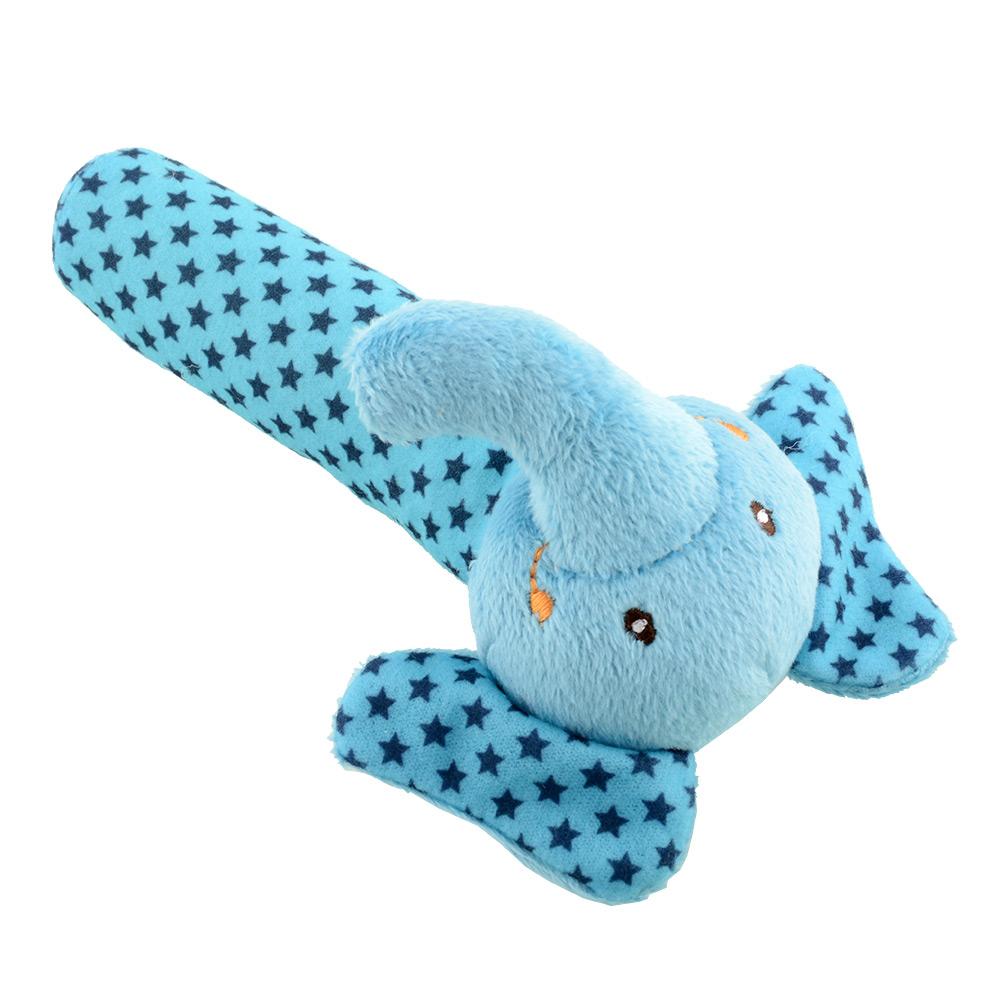 Animal Developmental Infant Baby Toys Shakes Stick Rattles Gift 4 Style