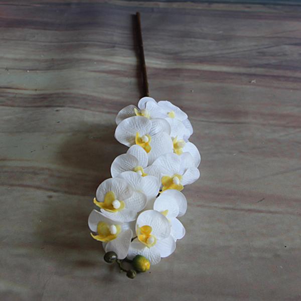 Rose Artificial Silk Fake Peony Flower Room Phalaenopsis Wedding Decor
