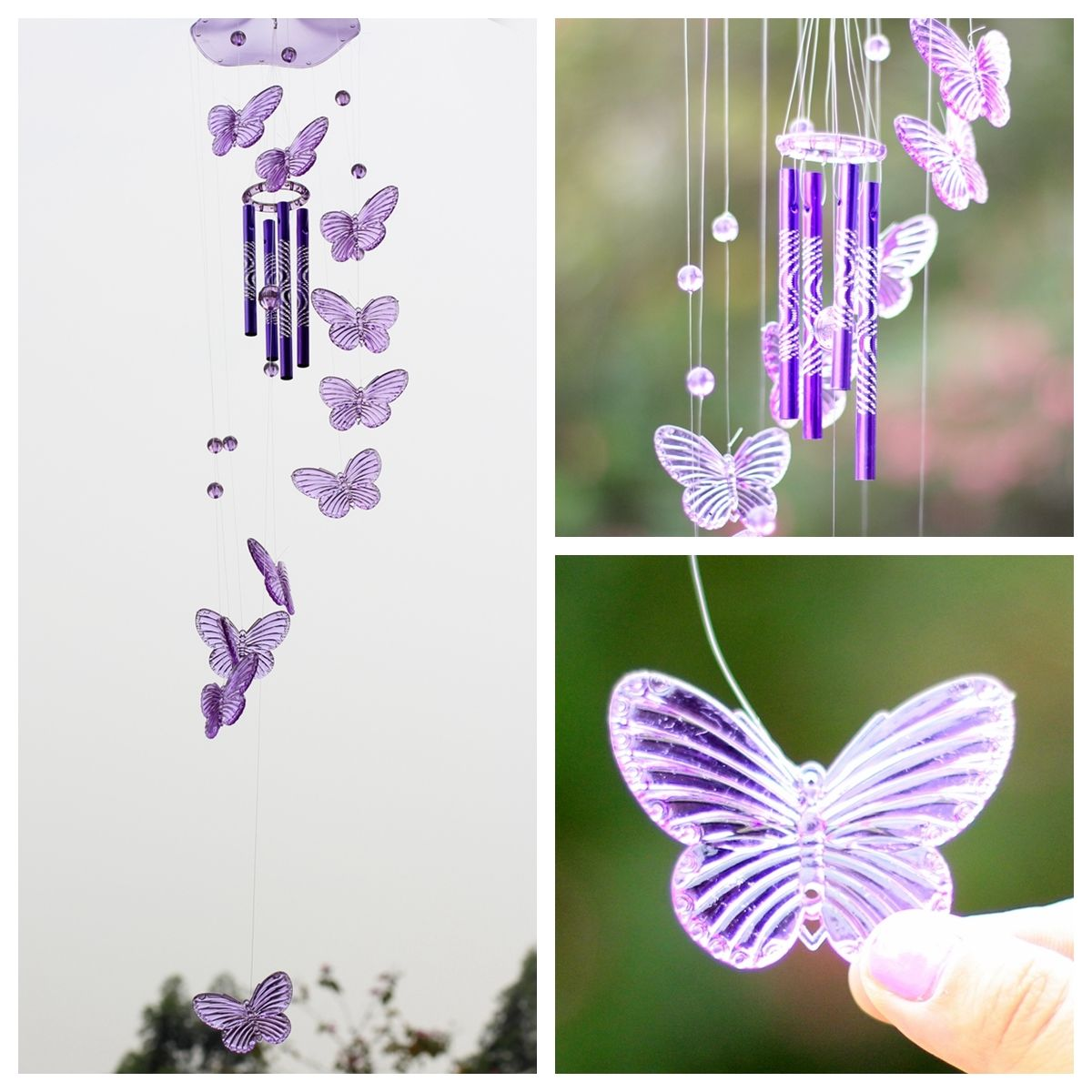 How To Make A Wind Chime How To Make Crystal Wind Chimes Rocketshotz
