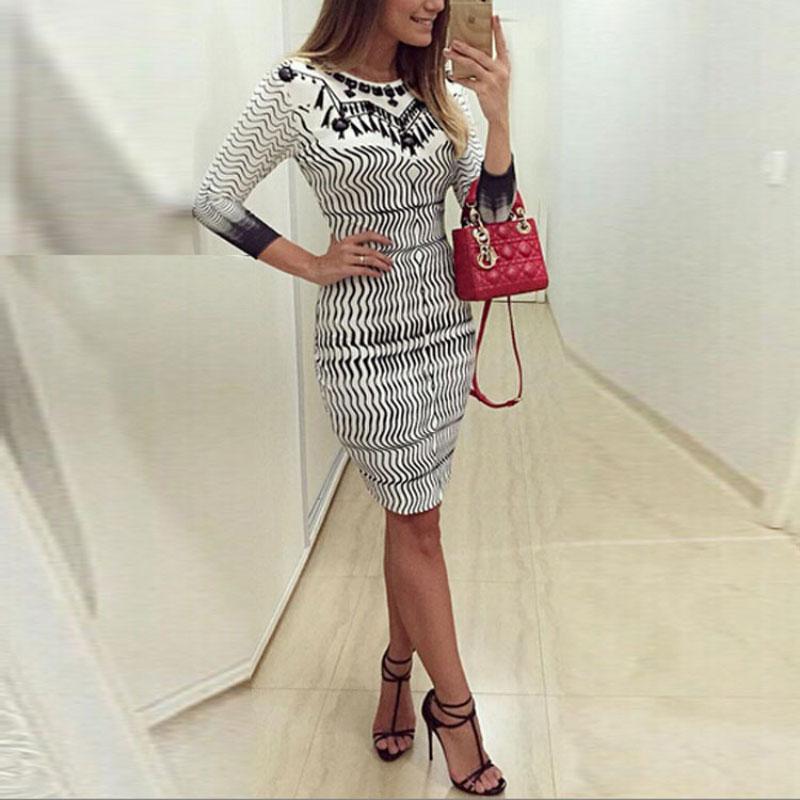 Hot Fashion Women Bandage Bodycon Long Sleeve Party Cocktail Mini Dress