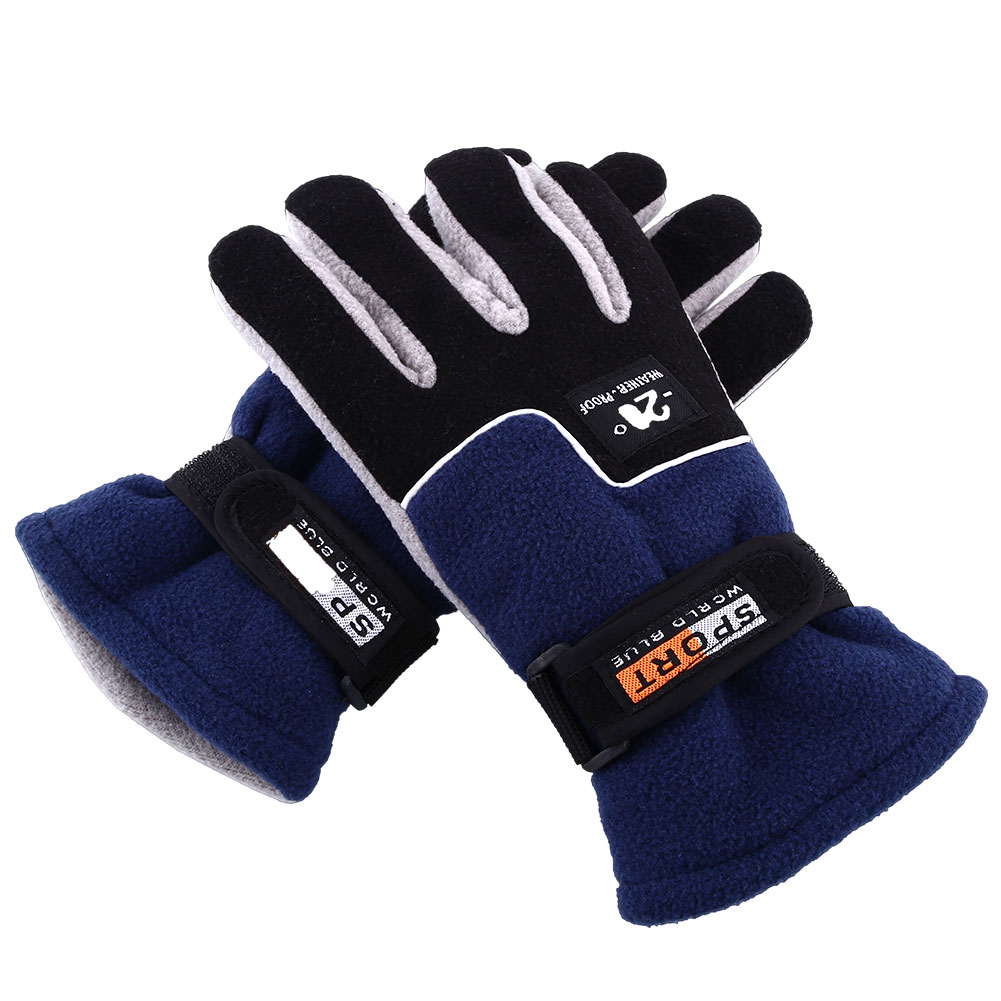 Full Finger Windproof Warm Thermal Winter Riding Climbing Snow Gloves