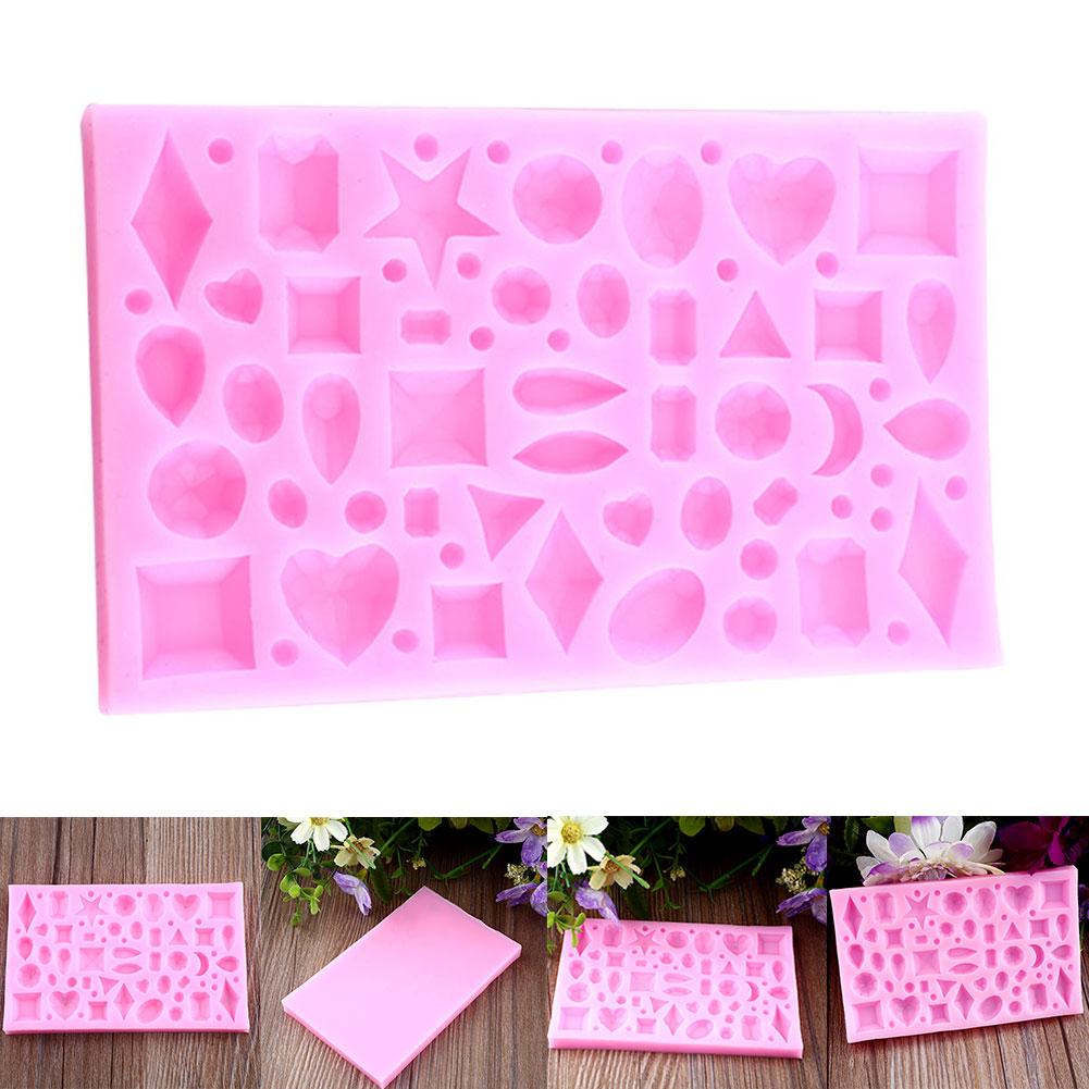 Cake Decorating Sugarcraft Moulds : Jewel Diamond Fondant Mould Cake Decorating Sugarcraft ...