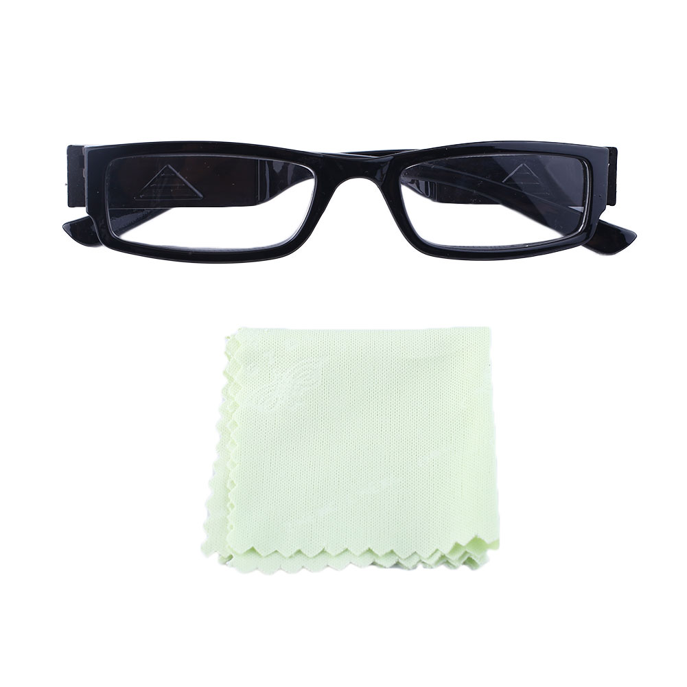 unisex rimmed reading glasses eyeglasses with led light