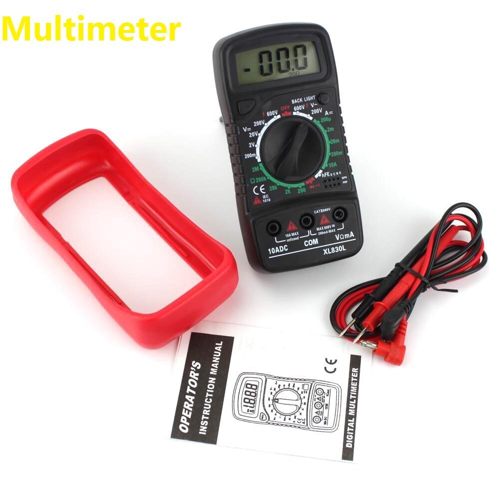 Farad Symbol On Multimeter : Digital lcd multimeter tester ac dc volt amp resistance