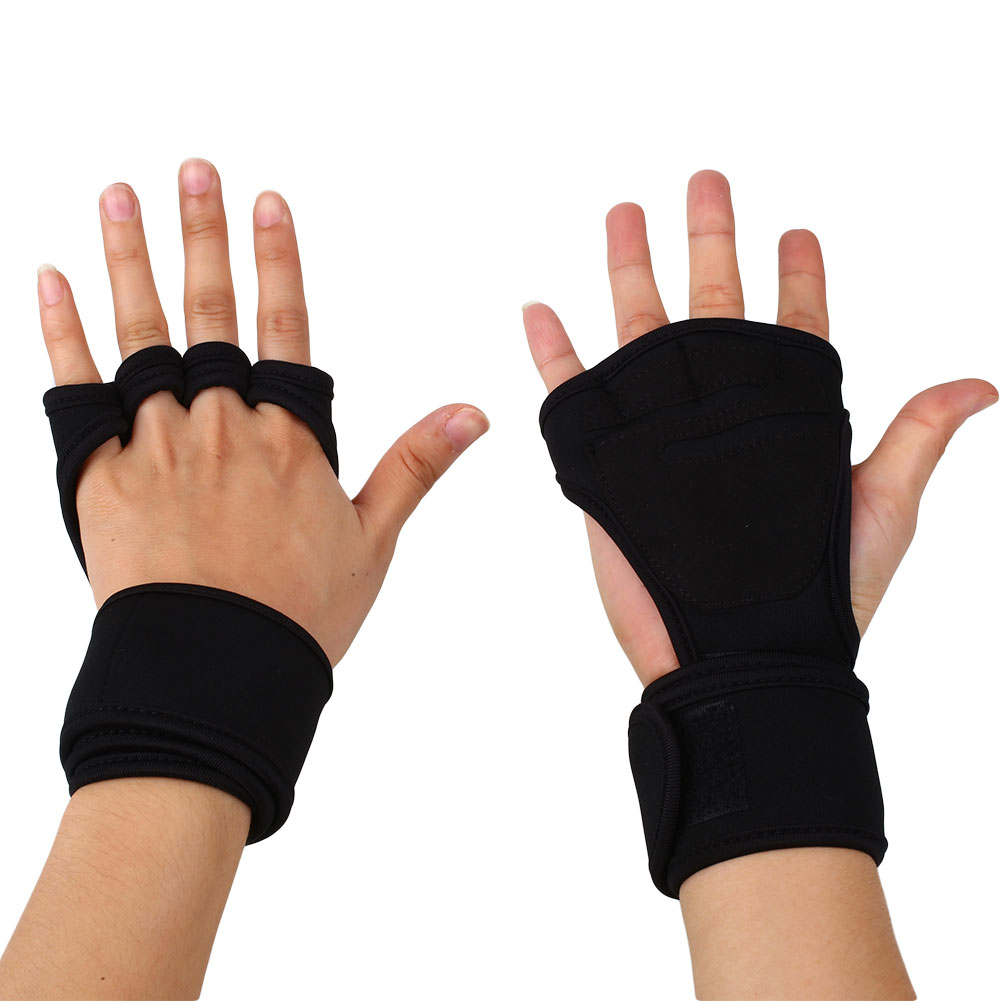 Weight Lifting Gym Gloves Training Fitness Wrist Wrap: Fitness Weight Lifting Gloves Gym Workout Exercise