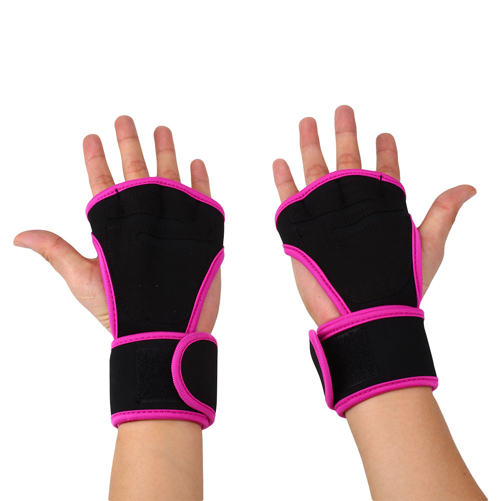 Weight Lifting Gloves: Fitness Weight Lifting Gloves Gym Workout Exercise
