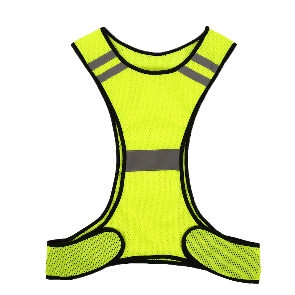 reflective vest security safety for night sport running cycling high visibility ebay. Black Bedroom Furniture Sets. Home Design Ideas