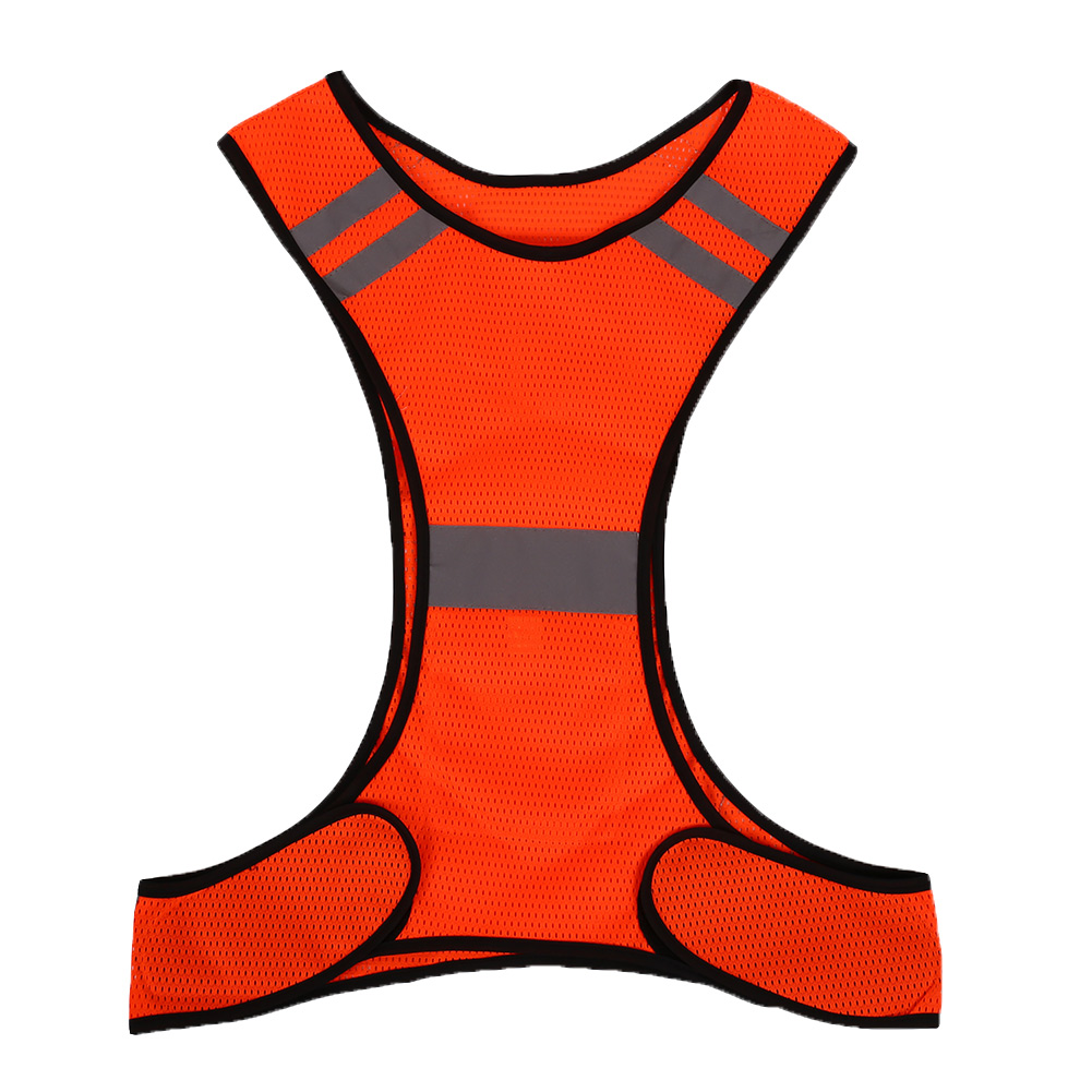 reflective vest for night work sport running cycling fluorescent high visibility ebay. Black Bedroom Furniture Sets. Home Design Ideas