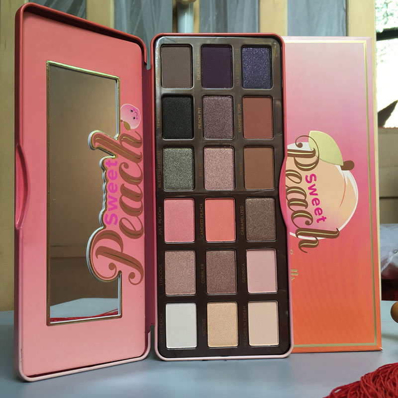 To Faced Chocolate Bar & Semi Sweet Eye Collection Palette Eyeshadow Make Up