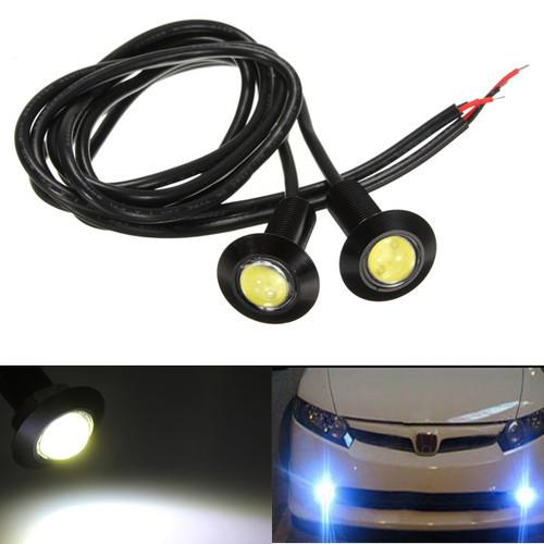 8 Stücke 3W LED Auto Adlerauge Beleuchtung Licht-Lampen-Birne Weiß