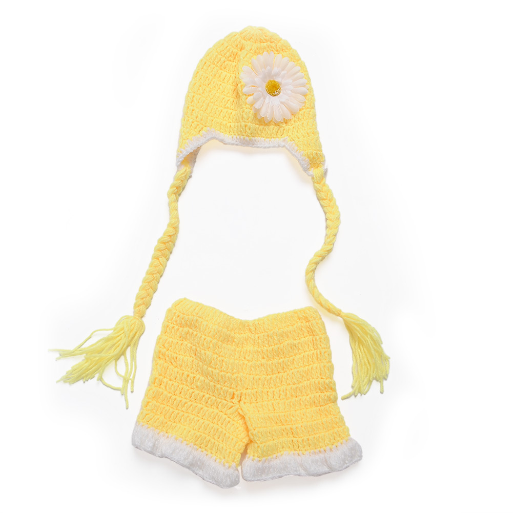 Clothes Handmade Sweet Crochet Photo Baby Outfit Prop Newborn -9M Costume Knit