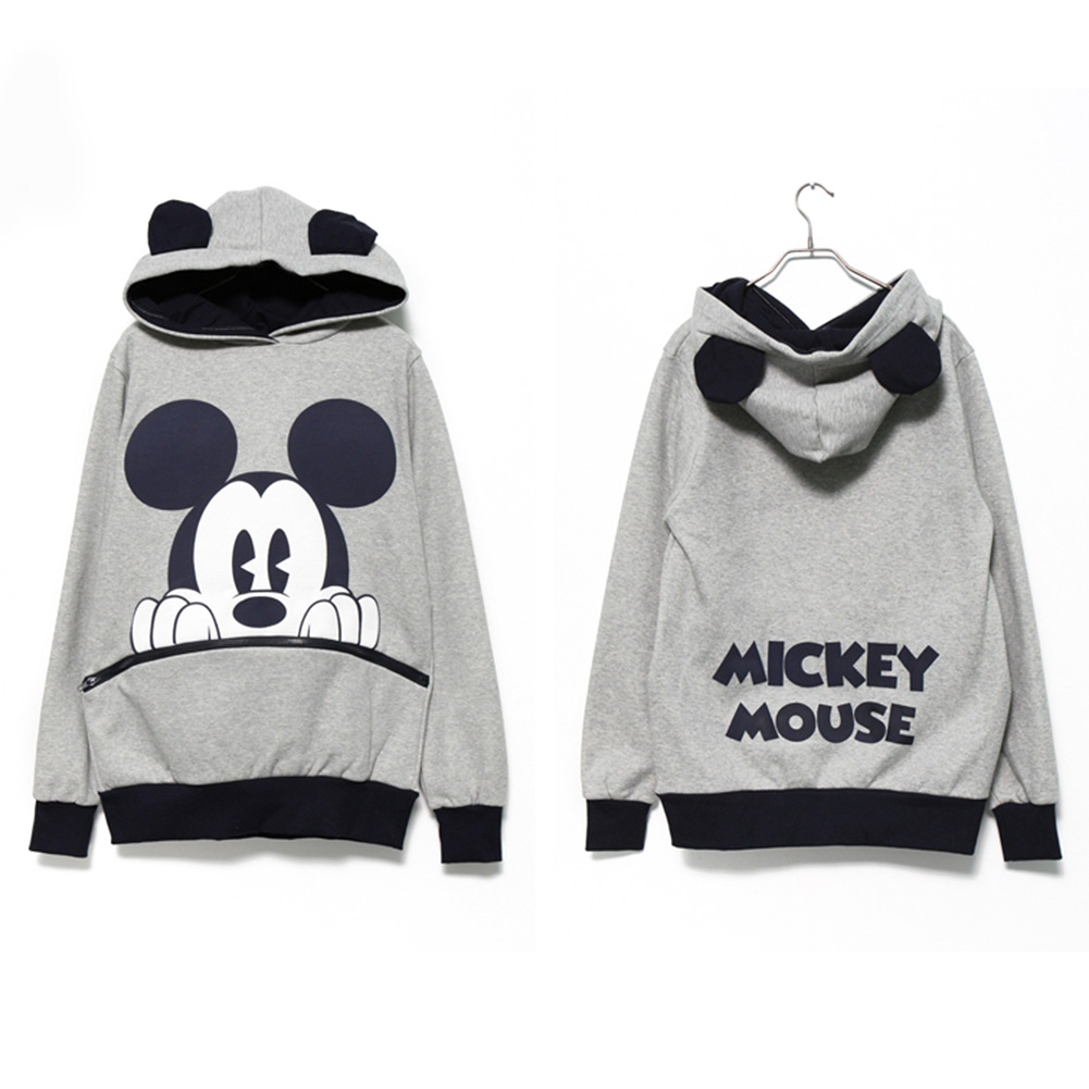 New-Cute-Mickey-Minnie-Mouse-Ear-Emo-Sweater-Tops-Shirts-Jumper-Hoodie-Casual