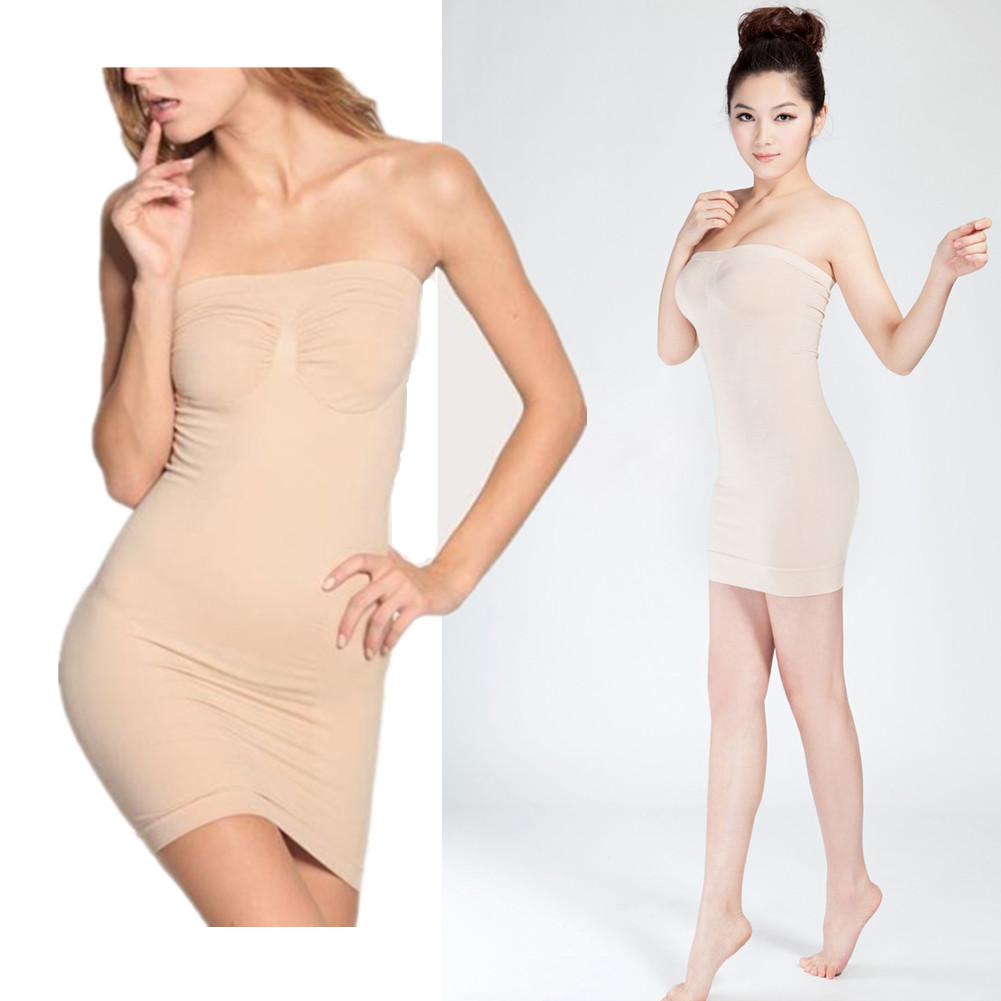 Tummy Spanx Control Tube Slimming Shaper Body Dress