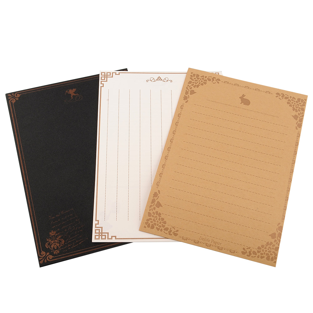 8-sheets-European-Style-Retro-Ancient-Vintage-Letter-Paper-Stationery-3-Kinds