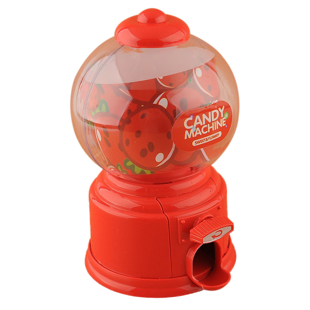 HOT Mini Candy Gumball Vending Machine Saving Box Coin Bank Child Gift