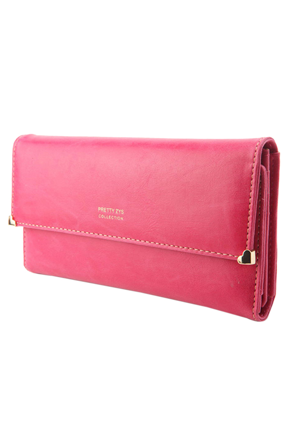 Womens-New-Fashion-Clutch-Matte-Leather-Wallet-Lady-Card-Purse-Handbag-Candy