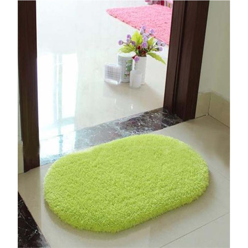 Luxury Bathroom Rugs Vertical Stripes Memory Foam Mat Carpet Floor Mats Bath