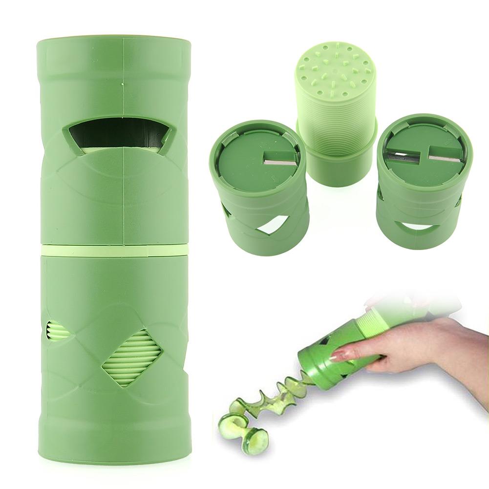 Kitchen Tool: Vegetable Fruit Slicer Cutter Shred Peeler Twister Practical