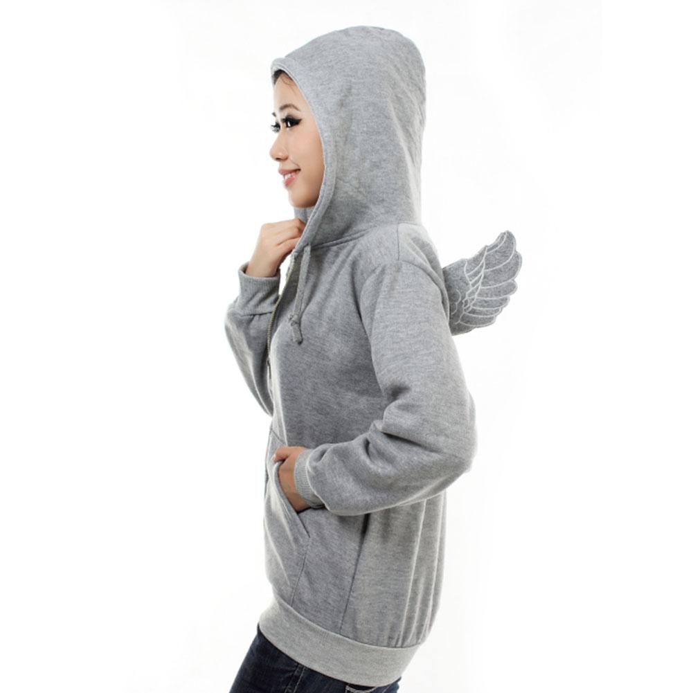 Fashion-Cute-Women-039-s-Girl-039-s-Angel-Wings-Hoodie-Jacket-Sweatshirt-Outerwear-Tops
