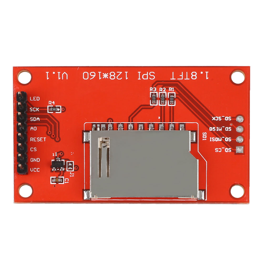 1-8-inch-TFT-SPI-Serial-LCD-Module-Display-PCB-Adapter-SD-128X160-for-Arduino