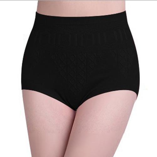 Women High Waist Brief Body Shaper Underwear Slim Tummy Pants Underwear