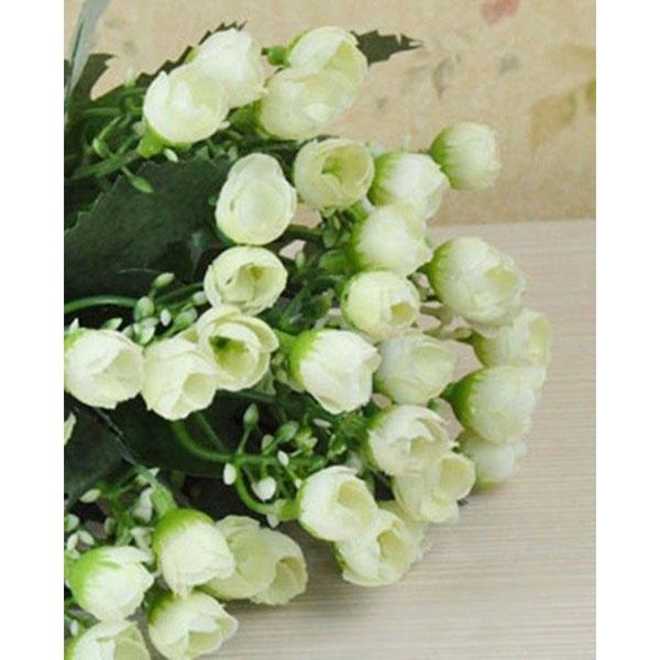seidenblumen strau bouquet kunstblumen hochzeit brautstrauss bl ten party deko ebay. Black Bedroom Furniture Sets. Home Design Ideas