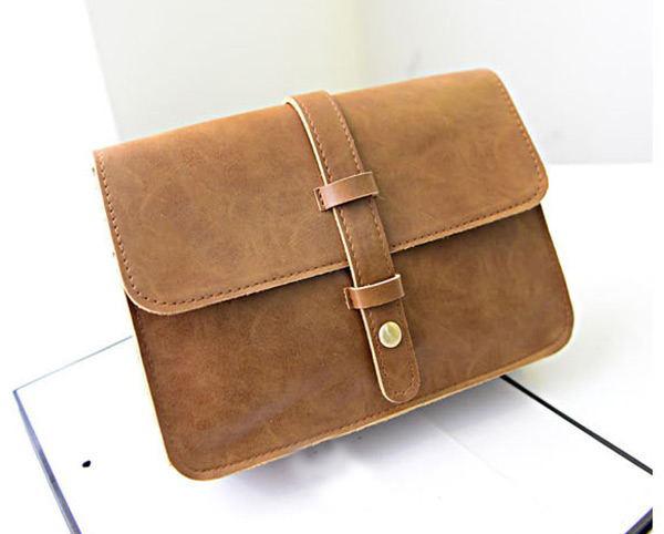 Fashion Retro Women Lady Handbag Messenger Purse Bags PU Satchel