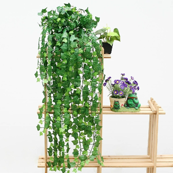 Boston Ivy Artificial Fake Leaf Garland Plant Vine Home Bedroom Party Decor
