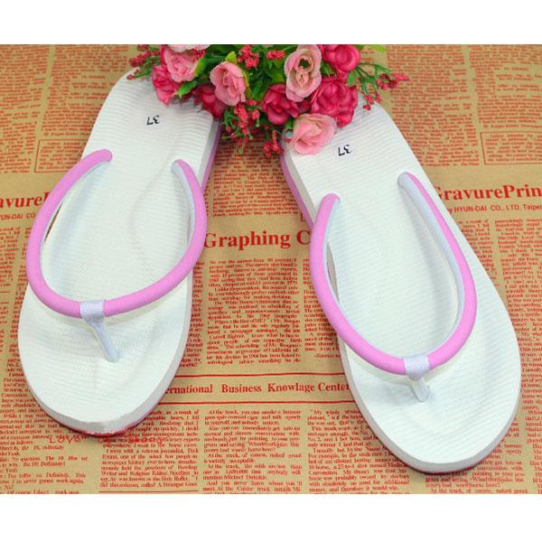 New Fashion Women Men's Beach On Flats Slippers Flip Flops Sandals Shoes