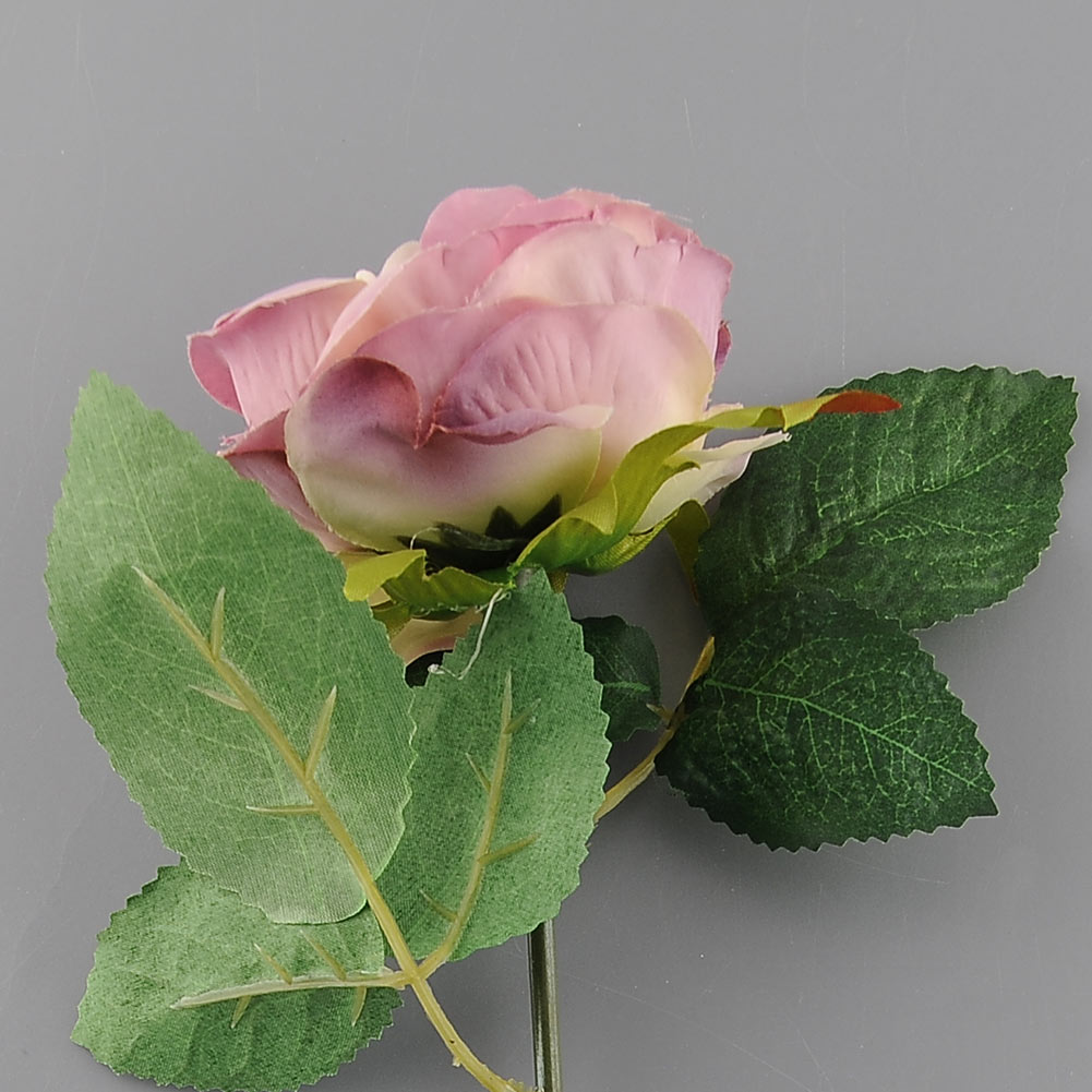 Artificial Faux Silk Rose Flower Leaf Party Garden Decor Decoration New