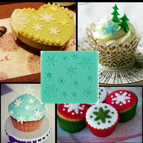Christmas Fondant Cake Decorating Cutter Mold Cookie ...
