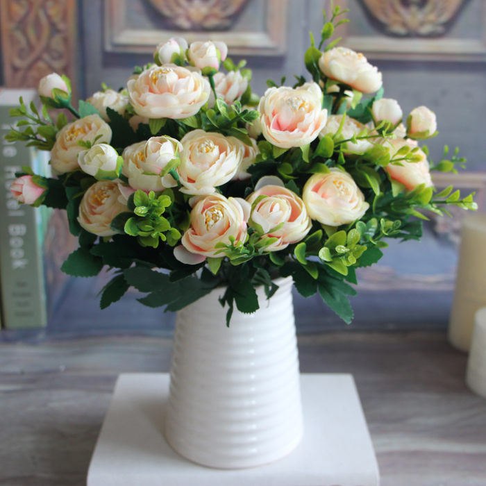 Lovely Artificial Fake Peony Flower Home Wedding Hydrangea Decoration