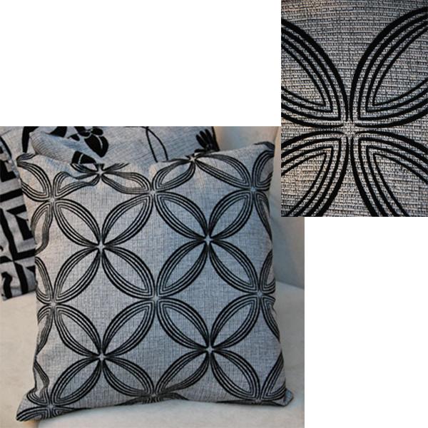 Linen Black Grey Throw Pillow Cushion Case Cover Home Car Sofa Bed Decor Gift