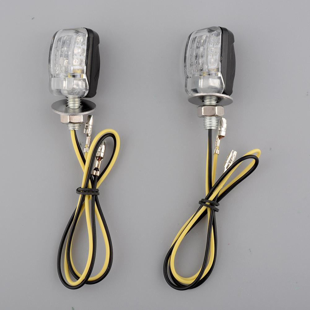 jual aukey high quality 2pcs 6 led amber turn signal lights