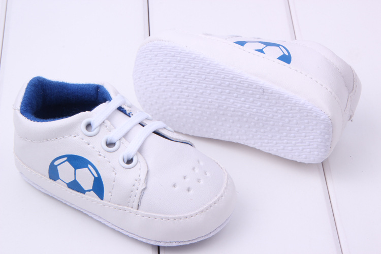 New Prewalker Lace Up Sneaker Soft Comfy Breathable PU Trainers Shoes