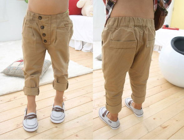 New-Kids-Boys-Loose-Pants-Slim-Baggy-Khaki-Sports-Dance-Hip-Hop-Trousers