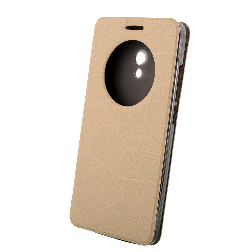 Leather Case For ASUS ZenFone 6 Ultra-Thin Slim Quick Circle Window Flip cover