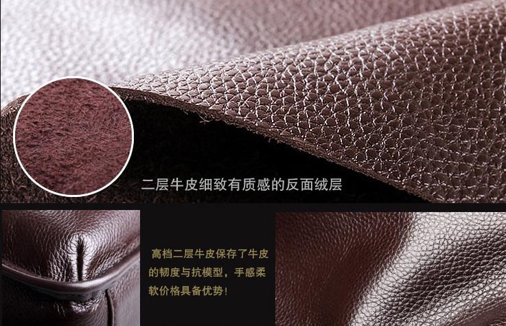 Brand New Leather Handbag Messenger Shoulder Briefcase Laptop BAG Business Purse