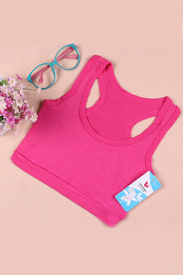 Stretch-Athletic-Sports-Bra-Top-Tank-Yoga-Running-Cropped-Bandeau-Racerback
