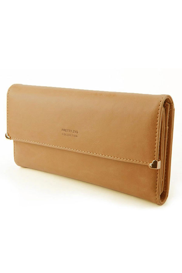 Women-039-s-New-Fashion-Clutch-Matte-Leather-Wallet-Lady-Card-Purse-Handbag-Candy